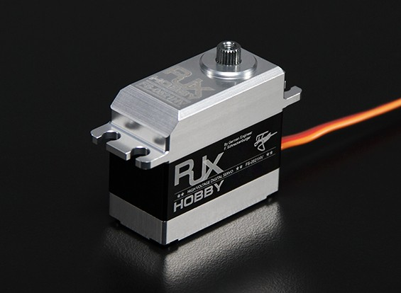 RJX FS-0521HV Metal Gear Digital Servo Ultra High Speed and Torque 21.3kg / 0.05sec / 68g