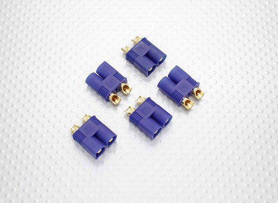 EC3 Connectors Male (5pcs/bag)