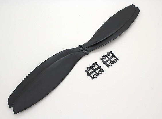 Turnigy Slowfly Propeller 14x4.7 Black (CW) (2pcs)