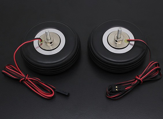 "Turnigy Electric Magnetic Brake System 66mm (2.5"") Wheel (2pc)"