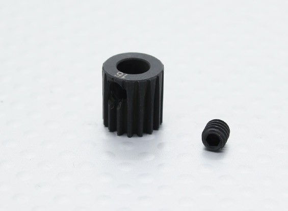 16T/5mm 48 Pitch Hardened Steel Pinion Gear