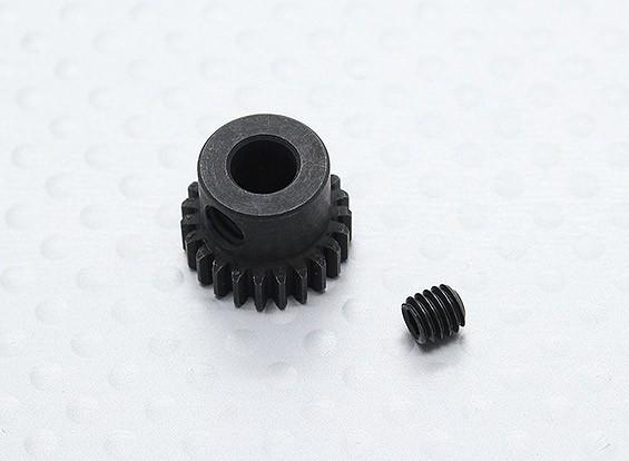23T/5mm 48 Pitch Hardened Steel Pinion Gear