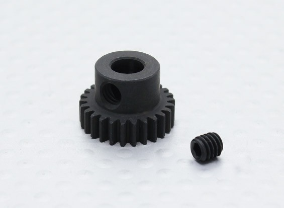 26T/5mm 48 Pitch Hardened Steel Pinion Gear