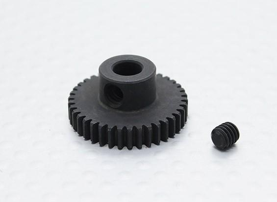 38T/5mm 48 Pitch Hardened Steel Pinion Gear