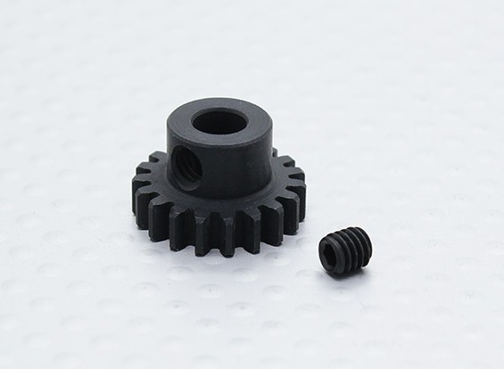 19T/5mm 32 Pitch Hardened Steel Pinion Gear