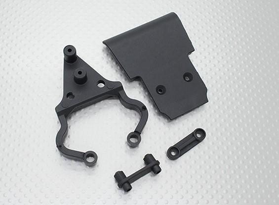 Quanum Skull Crusher 2WD - front bumper set, mount & holder
