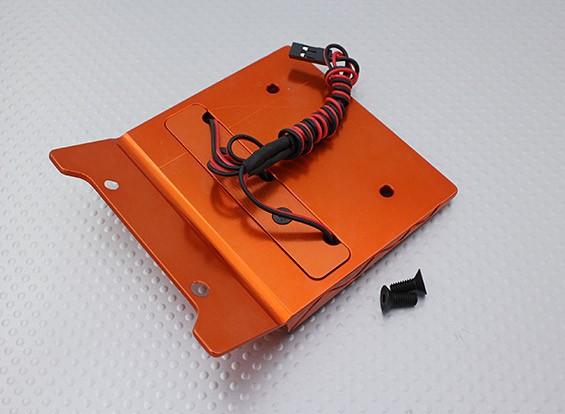 CNC Decoration Roof with LED Light Set (Orange) - Baja 260 and 260S
