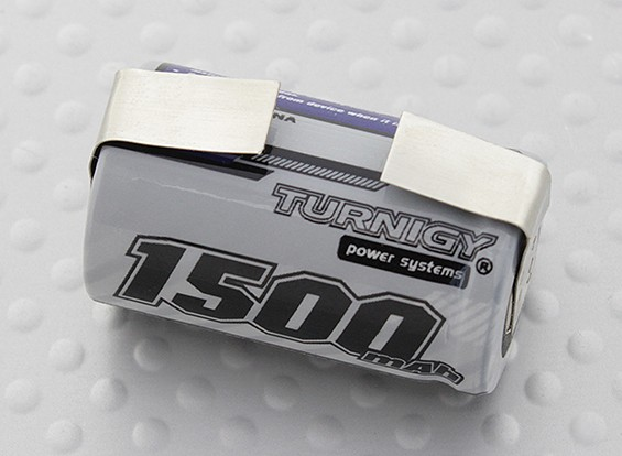 Turnigy Rechargeable 2/3A 1500mAh 1.2v NiMH High Power Series