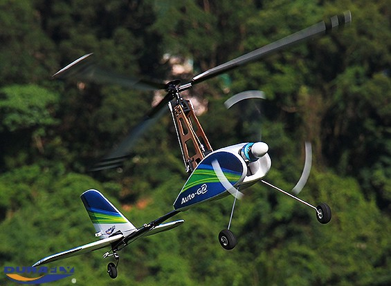 Durafly™  Auto-G2 Gyrocopter w/Auto-Start System 821mm (PNF)