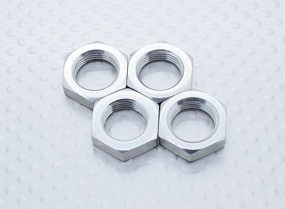 Big Hex Wheel Nuts - Nitro Circus Basher 1/8 Scale Monster Truck, SaberTooth Truggy (4pcs)