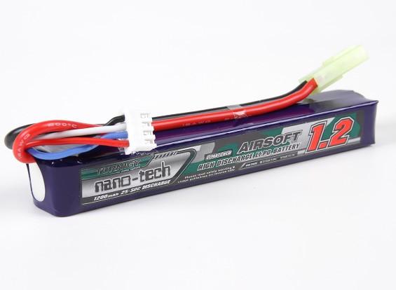 Turnigy nano-tech 1200mAh 3S 25-50C Lipo AIRSOFT Pack