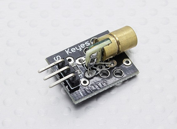 Kingduino Compatible 5V 650nm PCB Laser Diode Module