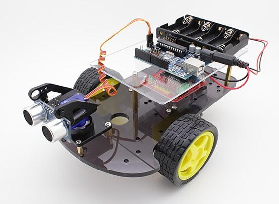 Kingduino 2WD Ultrasonic Smart Car Kit