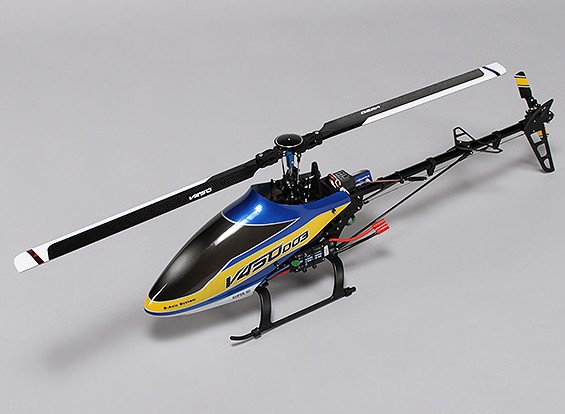 Walkera V450D03 Flybarless Helicopter with 6-axis Gyro - Mode 2 (RTF)