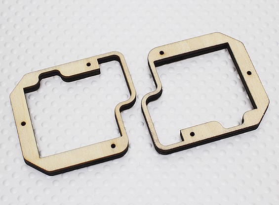 Turnigy Ply Servo Mount for Slim Wing Servo - TGY-777MG (2pc)