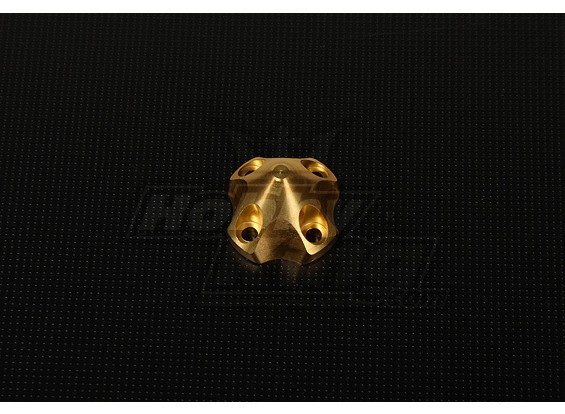 3D Spinner for DLE30 (33x33x26mm) Gold