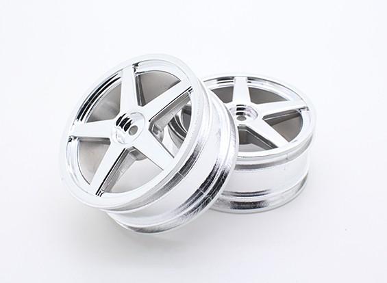 Toxic Nitro - Front Chromed Wheel