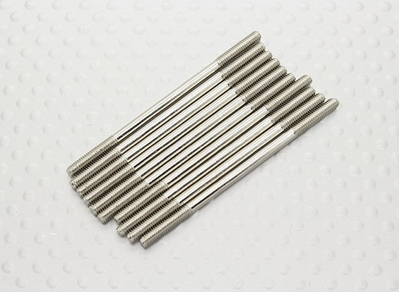 M2.5 x 50mm Steel Push Rod (10pc)