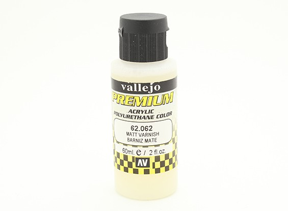 Vallejo Premium Color Acrylic Varnish - Matt (60ml) 62.062