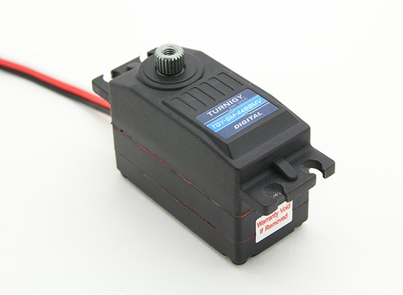 Turnigy™ TGY-SM-4488MV Waterproof Low Profile Steering Servo 9.2kg / 0.08 Sec /53g