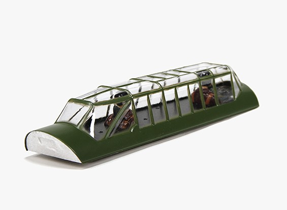 Durafly™ Messerschmitt Bf.110 - Replacement Canopy