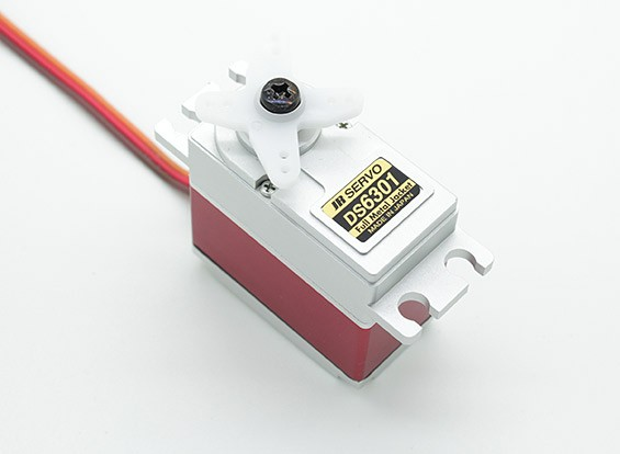 JR DS6301 High Torque Digital Servo with Metal Gears and Case