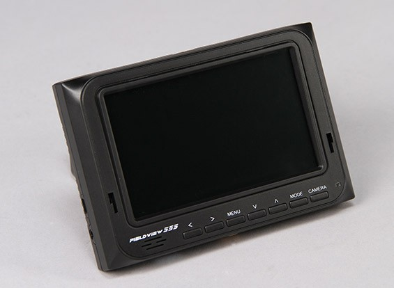 5 inch  800 x 480 TFT LCD HD FPV Monitor with Backlight Fieldview 555