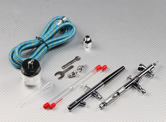 Double Action Professional Airbrush Kit