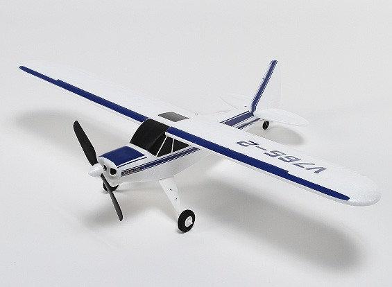 Super Cub EPO Brushless w/2.4ghz Mode 2 (RTF)
