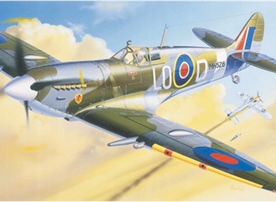 Italeri 1/72 Scale Spitfire MK.IX Plastic Model Kit