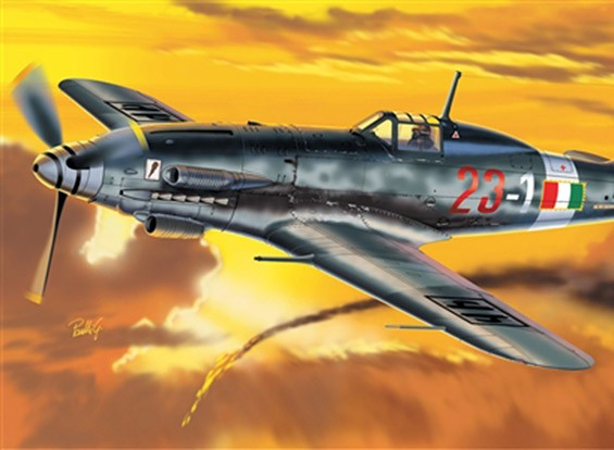 Italeri 1/72 Scale MC.205 Veltro Plastic Model Kit