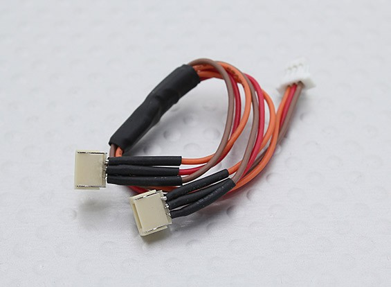 Micro JST(Molex) 1.0mm Pitch Y Lead (1pc)