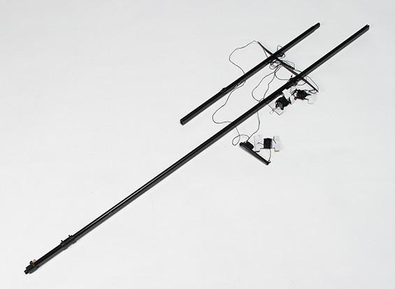 RC 1.8mtr Monsoon Sailboat - Mast Set