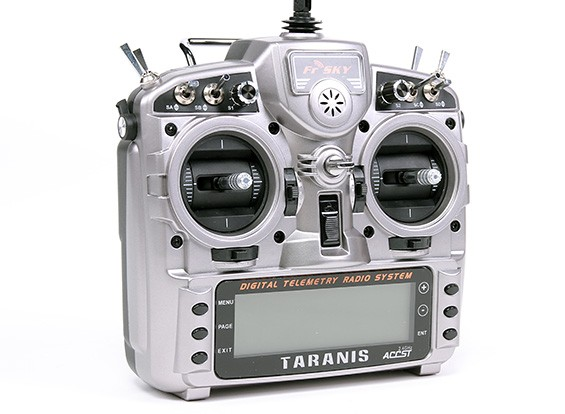 FrSky 2.4GHz ACCST TARANIS X9D and X8R Combo Digital Telemetry Radio System (Mode 2)- New Battery