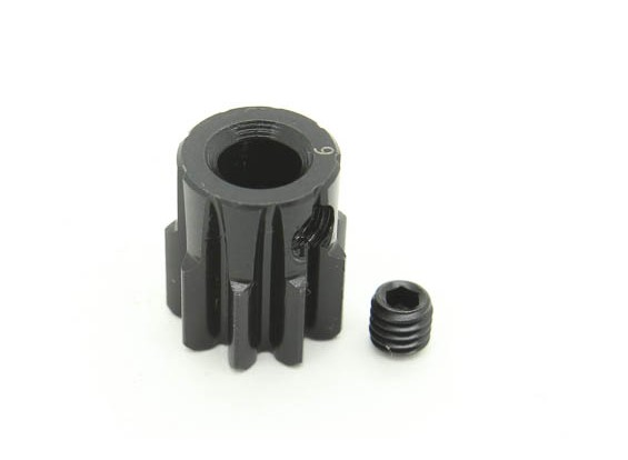 9T/5mm M1 Hardened Steel Pinion Gear (1pc)