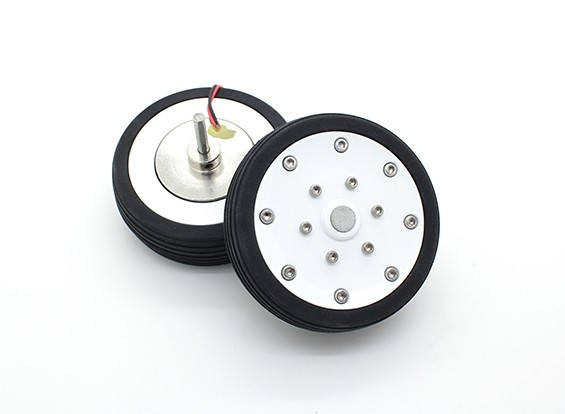 """Dr. MadThrust 2.75"""" / 69.5mm Main Wheels with Electro Magnetic Braking System (2pc)"""