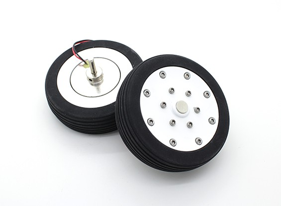 """Dr. MadThrust 3.0"""" / 75.5mm Main Wheels with Electro Magnetic Braking System (2pc)"""