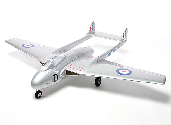 DeHavilland Vampire 90mm EDF Composite 1410mm (ARF)