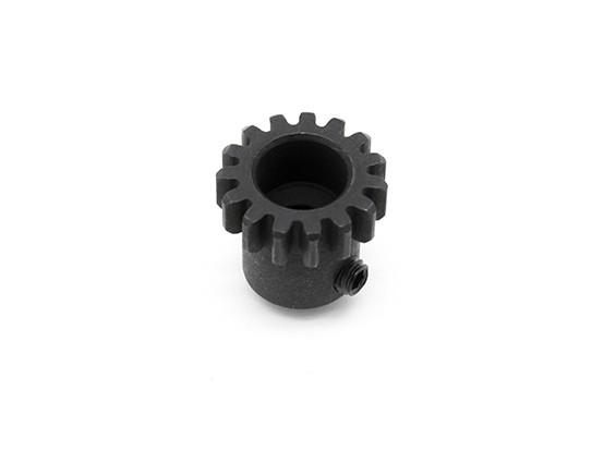 Motor gear 15T w/M4x4 grub screw - Basher SaberTooth 1/8 Scale