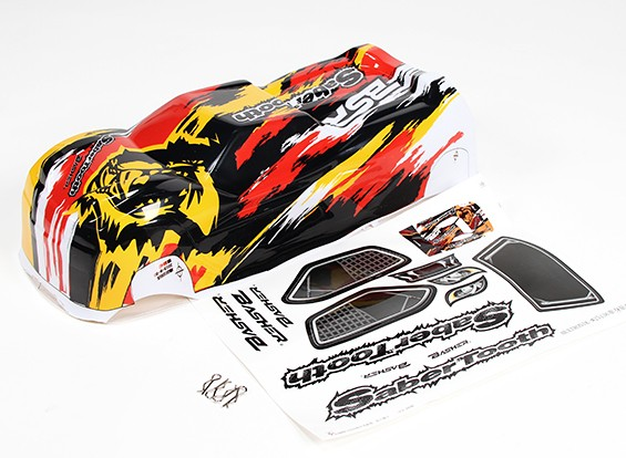 Body shell - Basher SaberTooth 1/8 Scale Truggy