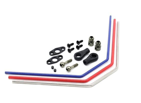 Rear sway bar set - Basher SaberTooth 1/8 Scale (3pcs)
