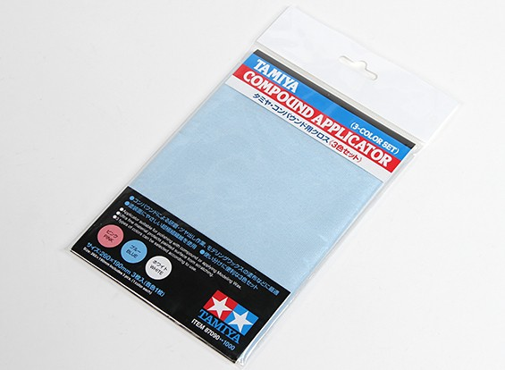Tamiya Compound Applicator Cloth (3pc)