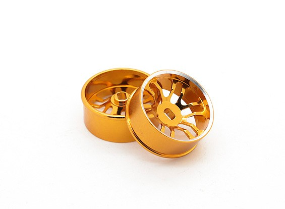 Aluminum Alloy Front Wheels 3mm Offset Turnigy TZ4 AWD (2pc)