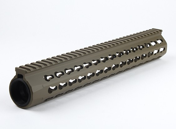 Dytac UXR4 13 inch Rail for Systema PTW Profile (1 1/4 inch /18 , Dark Earth)