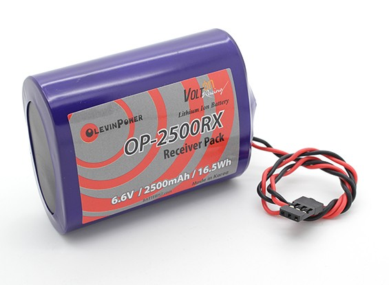 PQ-2500mAh 2S1P 6.6V (PQ, JR)