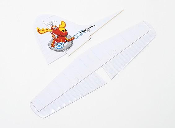 DHC-2 Beaver EP/GP (Kenmore Air) - Tail Set