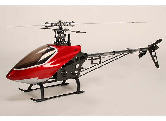 HK-500CMT 3D Electric Helicopter Kit (incl. GF blades and extras)