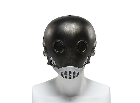 FMA Wire Mesh Full Face Mask (Hell Jazz , Golden Edition)