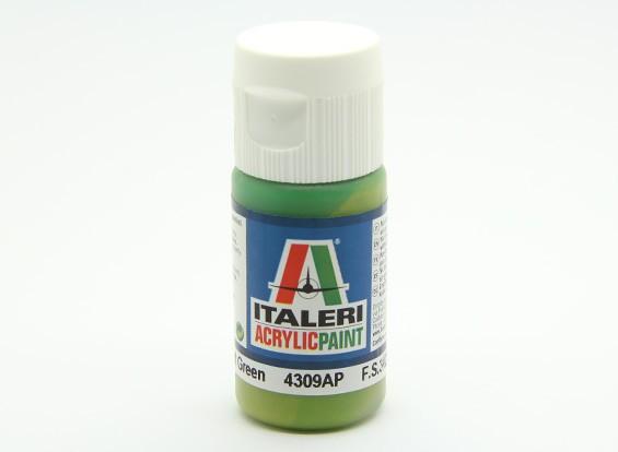 Italeri Acrylic Paint - Flat Light Green (4309AP)