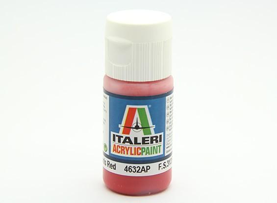 Italeri Acrylic Paint - Flat Guards Red (4632AP)
